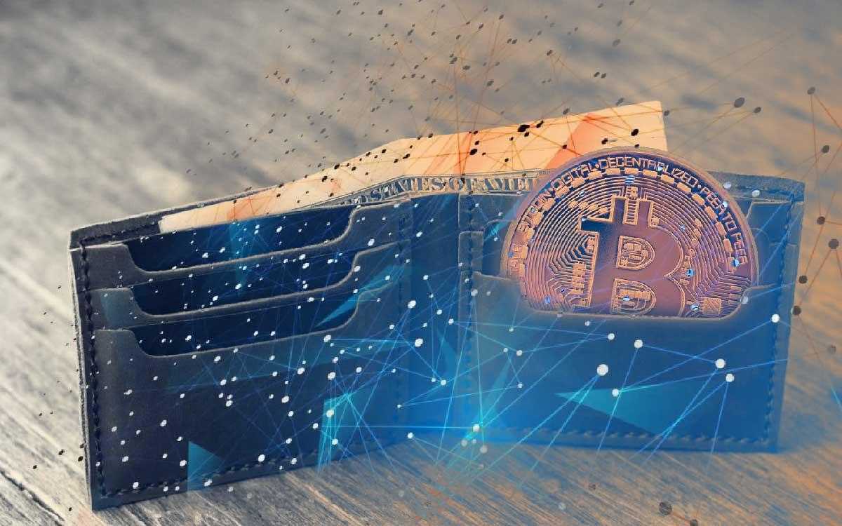 Recibe criptomonedas a tu wallet de Cryptia Exchange