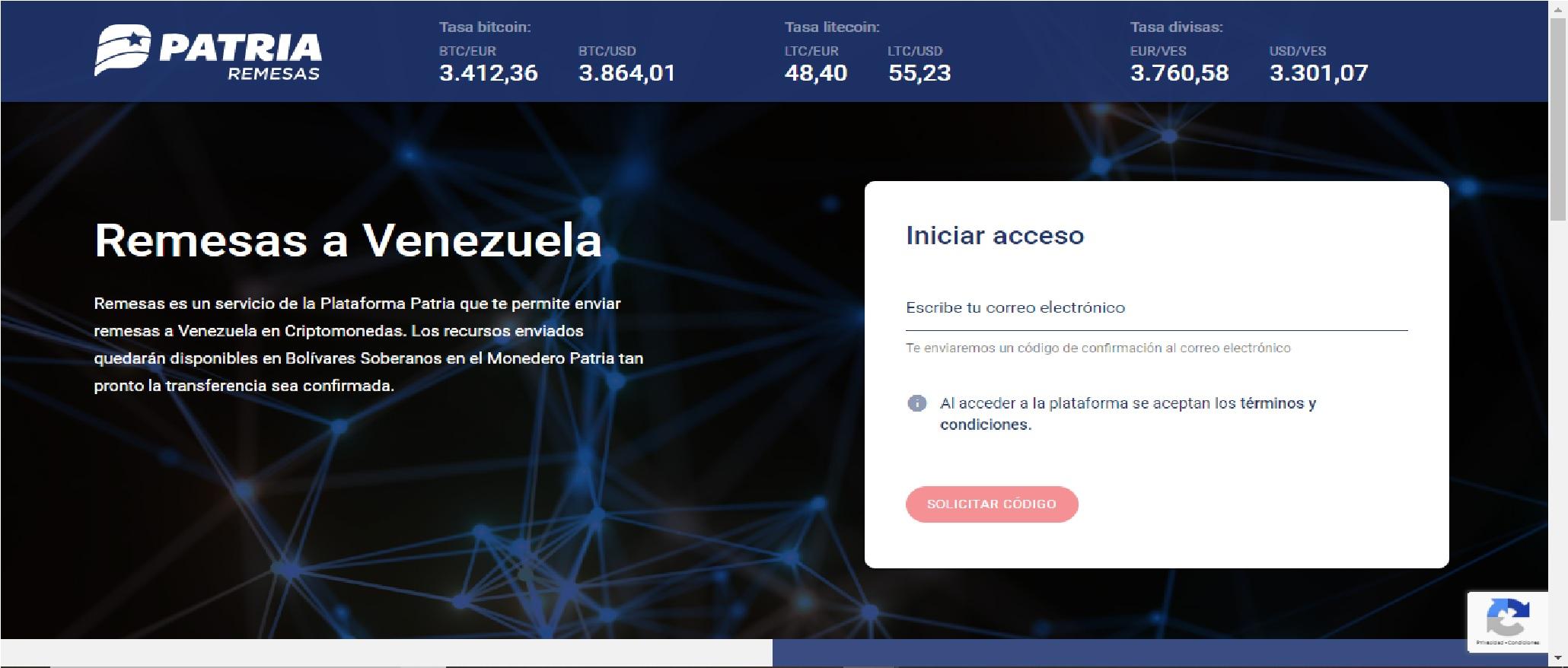 Patria Remesas: la nueva exchange del Estado Venezolano